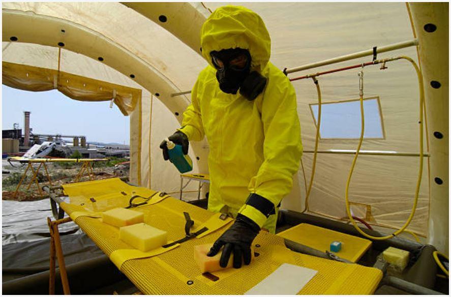 image nettoyage décontamination après sinistre