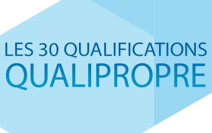 image Les 30 qualifications Qualipropre